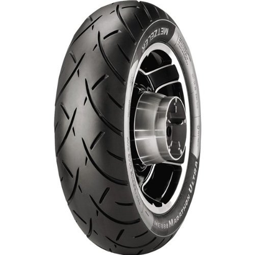 Metzeler 2318900 ME888 Marathon Ultra Rear Tire - MU85B16, Load Rating: 77, Position: Rear, Rim Size: 16, Speed Rating: H, Tire Application: Cruiser, Tire Size: MU85-16, Tire Type: Street ()
