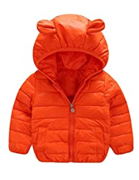 Winter Children Thick White Duck Down Jacket