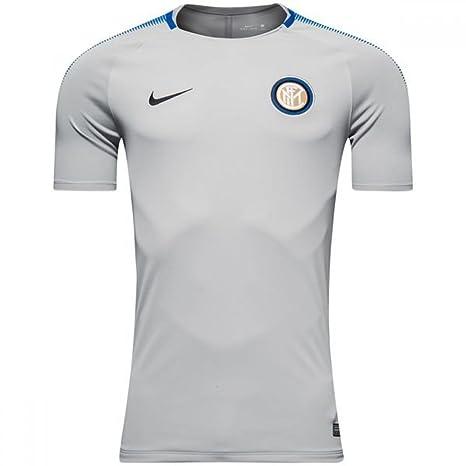 e627f94a6e6cb Amazon.com : Nike 2017-2018 Inter Milan Training Football Soccer T ...