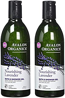 product image for Avalon Organics: Therapeutic Bath & Shower Gel, Lavender 32 oz (2 pack)