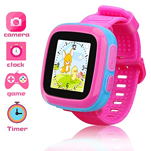 Game Smart Watch for Kids Girls Watch with Game Kids Smartwatch with Puzzle Game Camera Alarm Timer Pedometer Wrist Watch for Boys Girls Toys Festival Gifts Education Toys