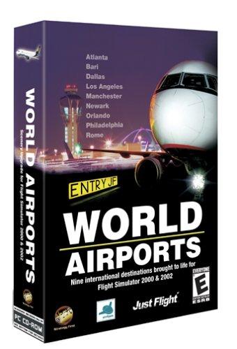 World Airports: Microsoft Flight Simulator 2000 and 2002 Add-On - PC