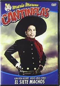 El Siete Machos (Cantinflas) [DVD]