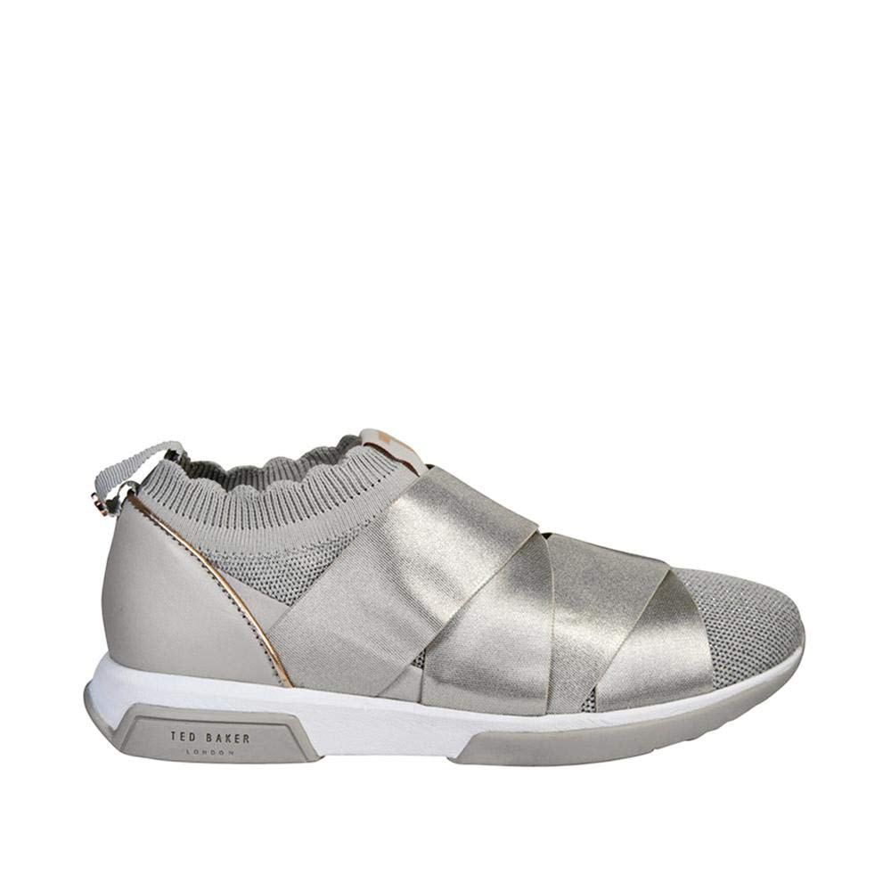 6c80369195899 Ted Baker Women's QUEANA Trainers, (Nickel Grey Gry), 9 (42 EU ...