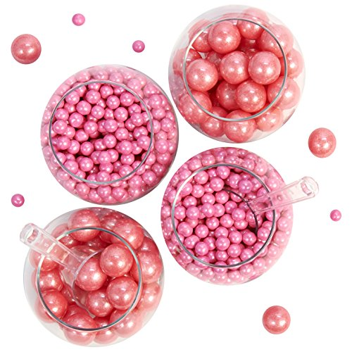 Shimmer Pink Sixlet & Gumball Candy Buffet Pack