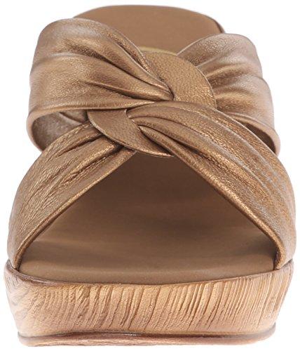 Sandalo Con Zeppa Gonfio Da Donna In Onice