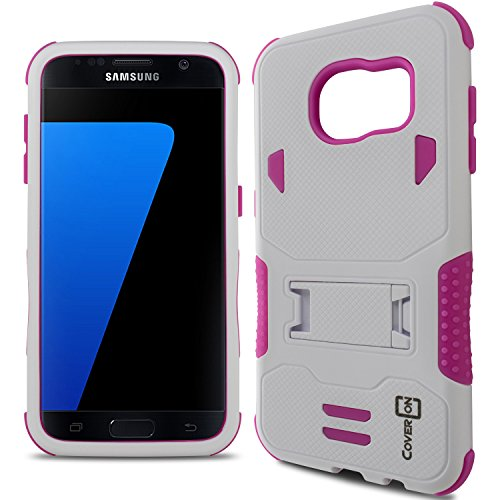 Galaxy S7 Edge Case, CoverON [DuraShield Series] Drop, used for sale  Delivered anywhere in USA