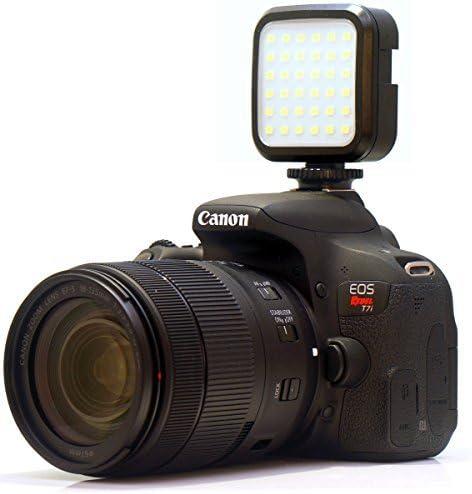 OM-D E-M5 II OM-D E-M10 Powerful 36 LED Array Shoe Mount Adjustable LED Video Light for Olympus E-620 SP-350 Cameras: Stackable LED Light Panel OM-D E-M5 OM-D E-M1 OM-D E-M10 II