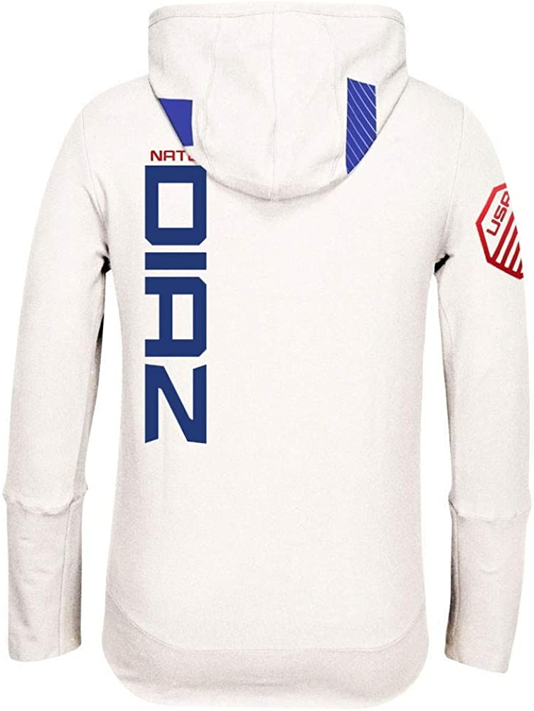 Reebok Nate Diaz UFC Fight Kit Full-Zip Official Chalk White Walkout Hoodie