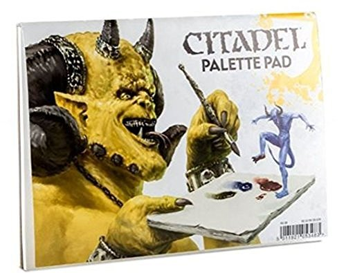 Games Workshop GW60-36 CITADEL PALETTE PAD by Games Workshop
