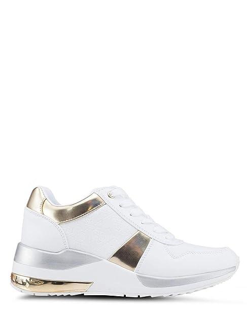 White Sneakers Janett36 Bags co WhiteAmazon ukShoesamp; Guess nO8wkP0