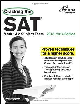 ##DOCX## Cracking The SAT Math 1 & 2 Subject Tests, 2013-2014 Edition (College Test Preparation). pierda caracter super entre notais Budget CONGRESS ultim