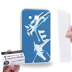 Case88 [Samsung Galaxy Core Prime G360] Gel TPU Carcasa/Funda & Tarjeta de garantía - Pokemon Dialga 0827