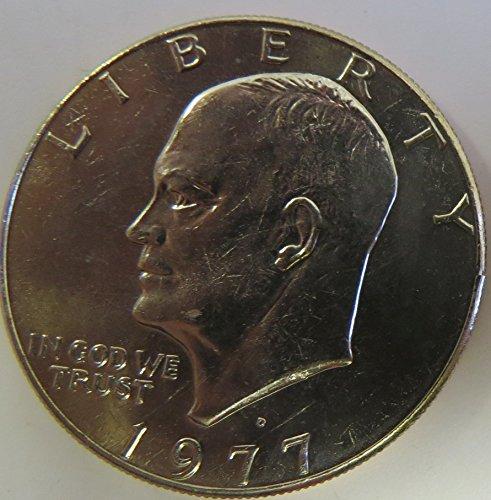 - 1977 D Eisenhower Dollar Choice Uncirculated
