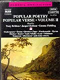 img - for Popular Poetry/Popular Verse (v. 2) book / textbook / text book