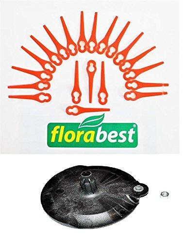 Flora Best Juego: 20 cuchillos + 1 discos de corte para ...