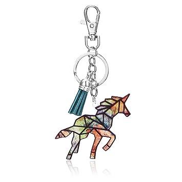 Haodou Llavero Dibujos Animados Pony Caballo Unicornio ...