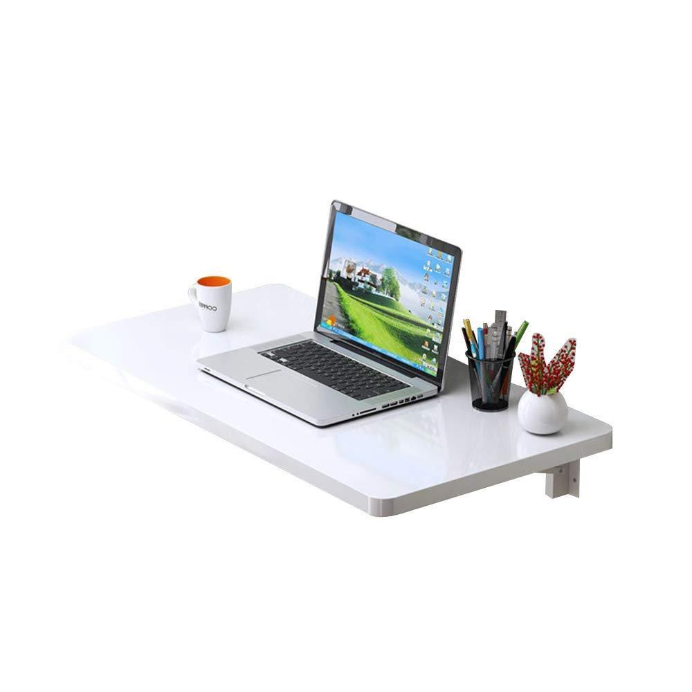 ACZZ Tavolo da Parete, Tavolo da Computer Pieghevole, Tavolo Caduto, Semplice Tavolo Scrivania per la Casa, 7 Dimensioni,A,60  40cm