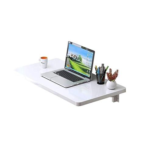 CZZ Mesa de Pared, Mesa Plegable para Computadora, Mesa Caída ...