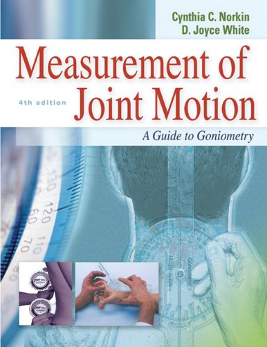 Download Measurement of Joint Motion A Guide to Goniometry Pdf