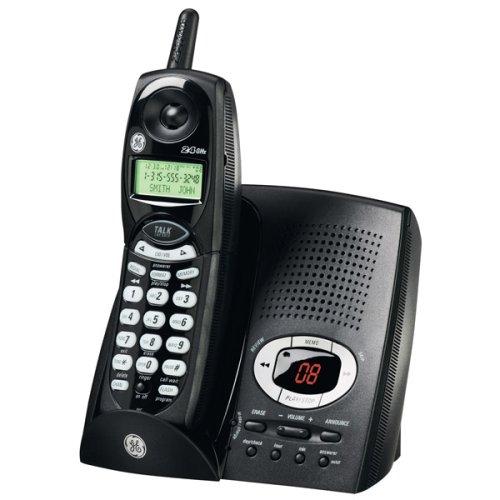 Ge Black Cordless Telephone - 9