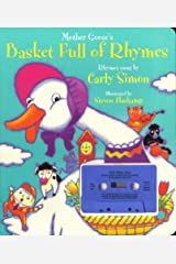 Mother Gooses Basket Full Of Rhymes: Board Book And Cassette Board book