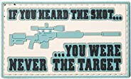 5ive Star Gear Heard The Shot Morale Patches, Multi-Color, One Size