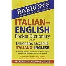 Barron's Italian-English Pocket Bilingual Dictionary