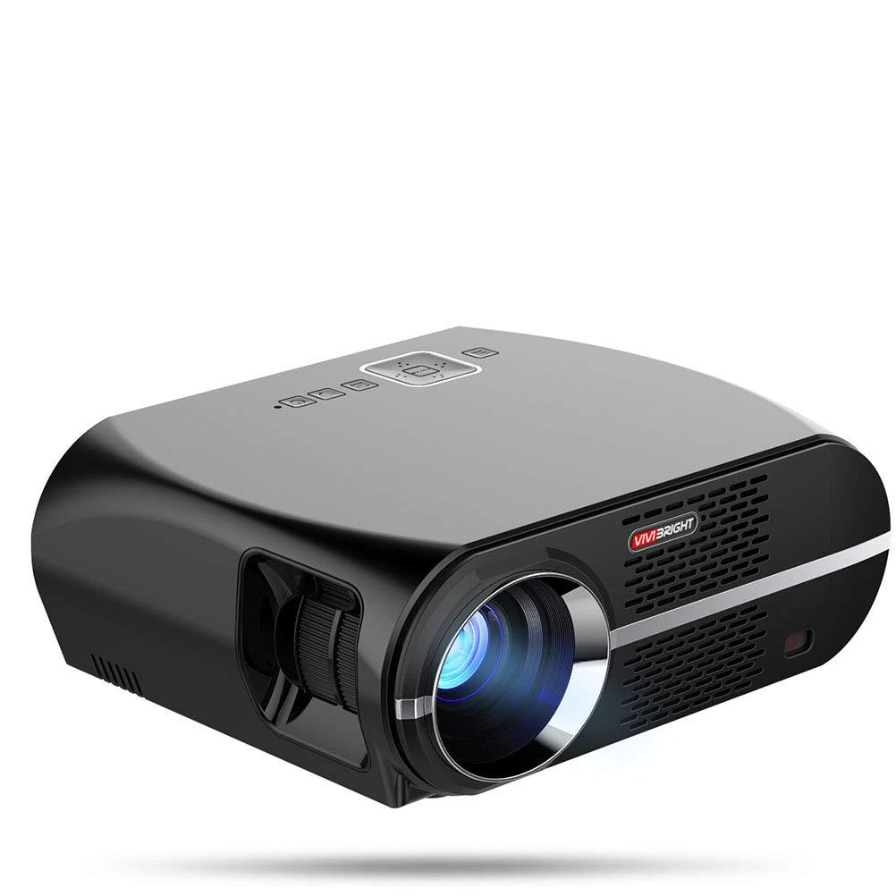 Proyector, Mini Proyector 3500 Lumens, Video Proyector Soporta ...