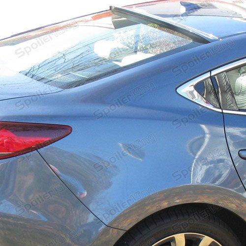 Mazda 6 4dr 2014-present Rear Window Roof Spoiler (284R) (6 Racing Mazda)
