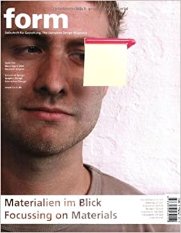 Book Focussing on Materials (Zeitschrift Form Series)
