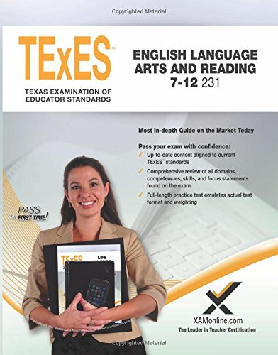 2017 TExES English Language Arts and Reading 7-12 (231) by XAMOnline