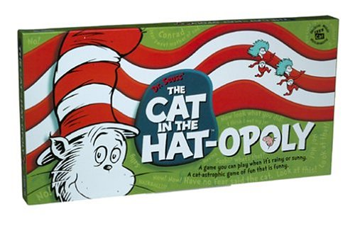 The Cat in the Hat Opoly Board Game