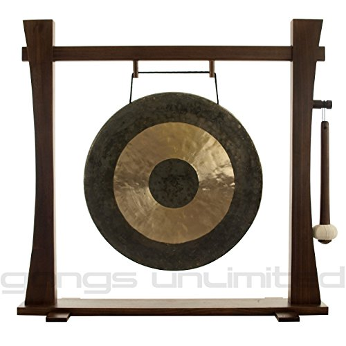 20'' to 22'' Gongs on the Spirit Guide Gong Stand by Unlimited