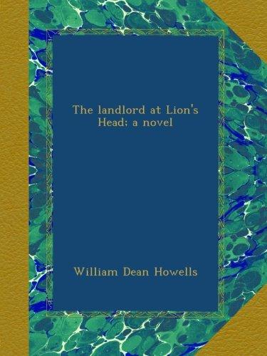 The landlord at Lion's Head; a novel PDF