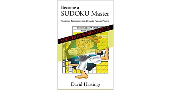 Become a SUDOKU Master Solution Worksheets - Kindle edition by ...