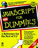 JavaScript for Dummies, Emily A. Vander Veer, 0764502239