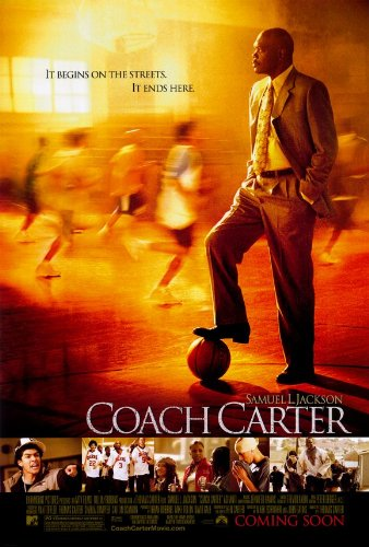 Carter Movie Poster - Coach Carter 27 x 40 Movie Poster - Style A