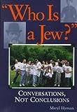 Who Is a Jew?, Meryl Hyman, 1879045761