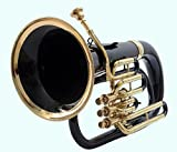 GLOBAL ART WORLD EUPHONIUM BLACK COLORED TOP GRADE QUALITY BEAUTIFULLY CRAFTED MUSICAL INSTRUMENT MI 078