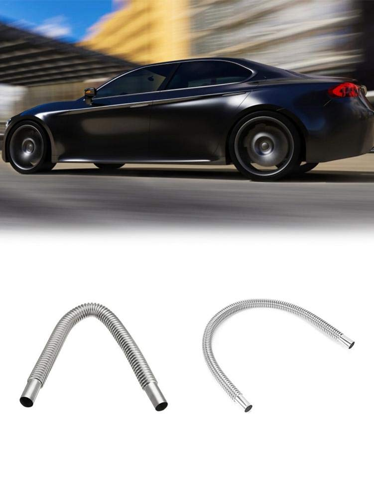 Diesel Gas Exhaust Pipe for Parking Air Heaters 60cm // 120cm terynbat Stainless Steel Air Heater Tank Exhaust Pipe for Car Trucks Silver Remarkable