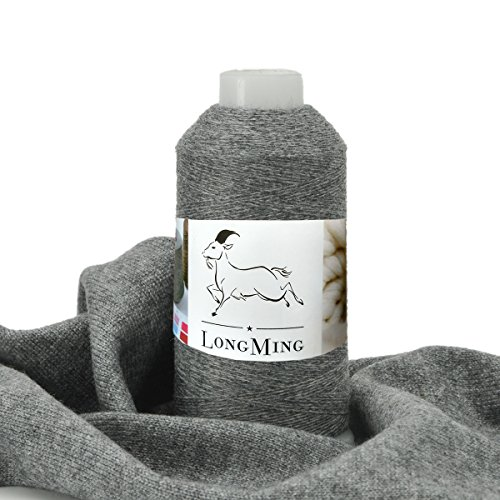 LongMing 26Nm/2 Worsted 100% Cashmere Yarn, Warm, Soft, Anti-pilling, Does not fade. L501# - L530# (50g, L530#)