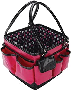 Everything Mary Deluxe Scrapbooking Organizer Tote: Pink