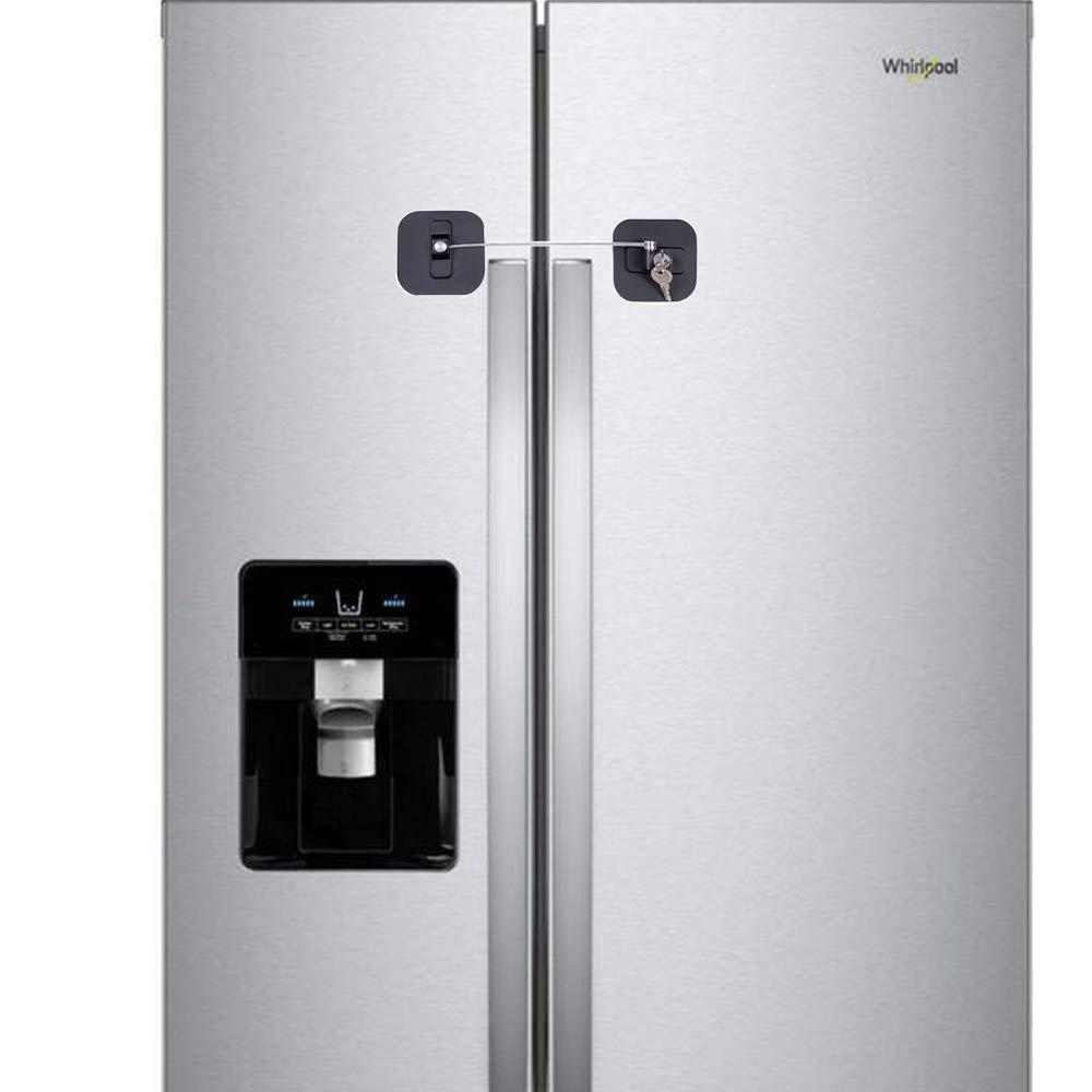 Candado para refrigerador, cerradura para nevera con llaves ...
