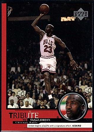 finest selection ecc34 2f802 Amazon.com: Basketball NBA 1999 Upper Deck Tribute to ...