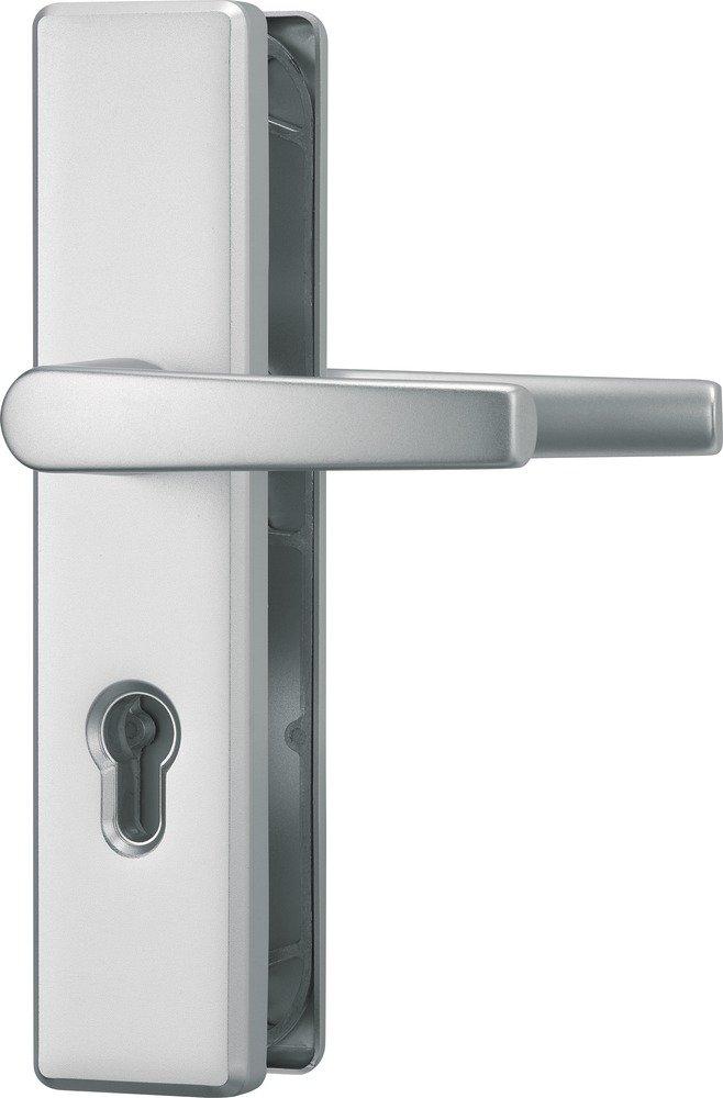 ABUS Tü r-Schutzbeschlag HLS214 F1, aluminium, 21034 210341