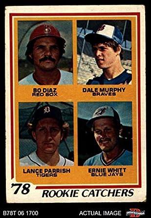 Amazoncom 1978 Topps 708 Rookie Catchers Dale Murphybo