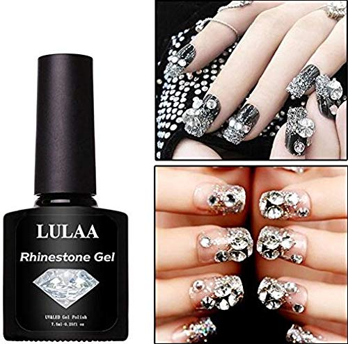 Beautiful and Practical Nail Art Rhinestone Glue Super Sticky DIY Nail Glue Tools UV Gel Yingealy