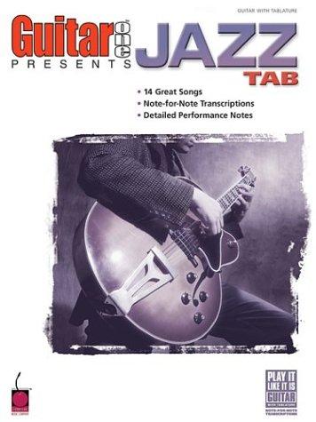 Guitar One Presents Jazz Tab (Play It Like It (Guitar One Presents)