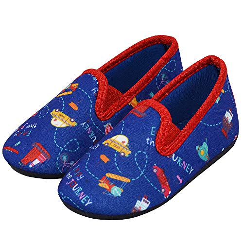 LA PLAGE Kid Indoor Shoes Cute Cozy Spring Little Kid Slippers 9 M US Toddler Air Craft